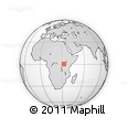 Outline Map of Kampala