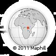 Outline Map of Bukonjo
