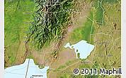 Satellite Map of Kasese