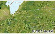 Satellite Map of Kibaale