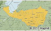Savanna Style Map of Kibaale