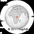 Outline Map of Kibaale