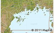 Satellite Map of Lake Victoria