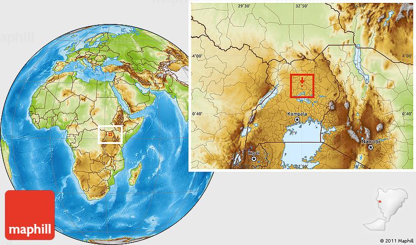 Lira map