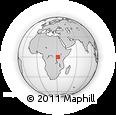Outline Map of Bukomansimbi