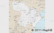 Classic Style Map of Masaka