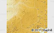 Physical Map of Kibanda