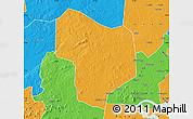 Political Map of Kibanda