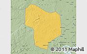 Savanna Style Map of Kibanda