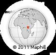 Outline Map of Kibanda