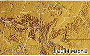 Physical 3D Map of Isingiro