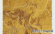 Physical Map of Isingiro