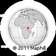 Outline Map of Isingiro