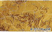 Physical 3D Map of Rwampara
