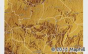 Physical Map of Rwampara