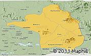 Savanna Style Panoramic Map of Moroto