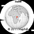 Outline Map of Kyadondo