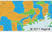 Political Map of Mpigi