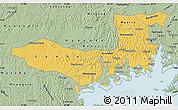 Savanna Style Map of Mpigi