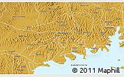Physical 3D Map of Mawokota