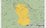 Savanna Style Map of Kassanda