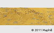 Physical Panoramic Map of Kassanda