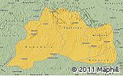 Savanna Style Map of Mubende