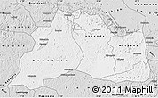 Silver Style Map of Mubende