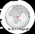 Outline Map of Mubende