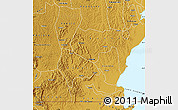 Physical Map of Rakai
