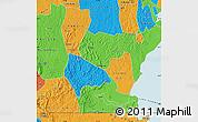 Political Map of Rakai