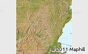 Satellite Map of Rakai