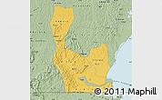 Savanna Style Map of Rakai