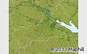 Satellite Map of Cerkas'ka