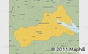 Savanna Style Map of Cerkas'ka
