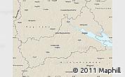 Shaded Relief Map of Cerkas'ka