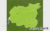 Physical 3D Map of Chernihivs'ka, darken