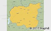Savanna Style 3D Map of Chernihivs'ka