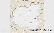 Classic Style Map of Chernihivs'ka