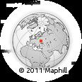 Outline Map of Chernihivs'ka