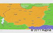 Political Panoramic Map of Chernihivs'ka