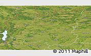 Satellite Panoramic Map of Chernihivs'ka