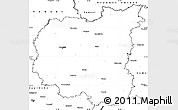 Blank Simple Map of Chernihivs'ka