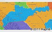 Political Map of Chernivets'ka