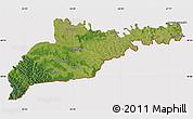 Satellite Map of Chernivets'ka, cropped outside