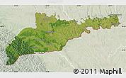 Satellite Map of Chernivets'ka, lighten