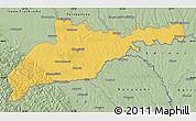 Savanna Style Map of Chernivets'ka