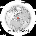 Outline Map of Chernivets'ka