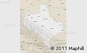 Classic Style Map of Ivano-Frankivs'ka