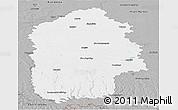 Gray Panoramic Map of Khmel'nyts'ka